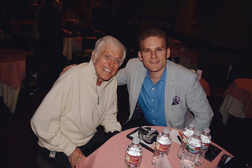 Matt with Dick Van Dyke