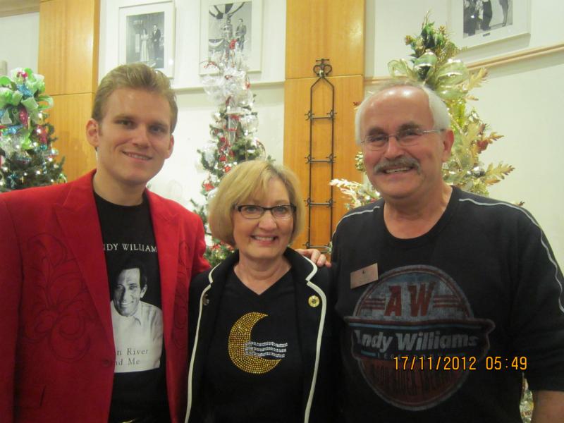 Matt Barber with Dennis and Mavis Rusch