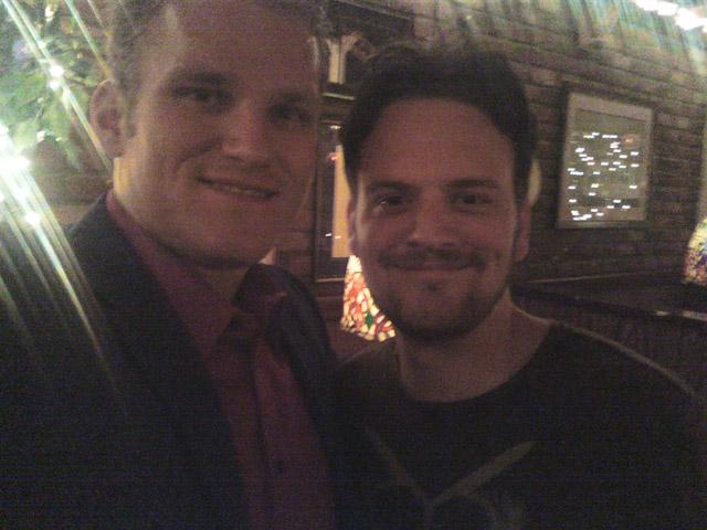 Matt and Brandon