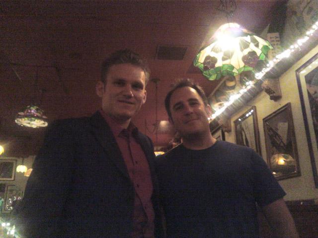 Matt with Craig Pilo