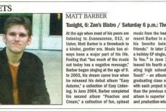 Matt Barber In The News